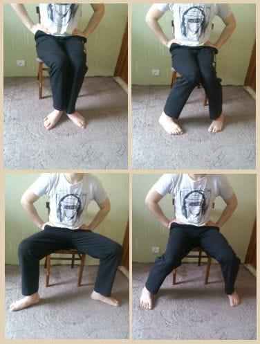Лечебная гимнастика при плоскостопии.