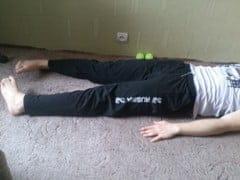 Упражнения при плоскостопии.