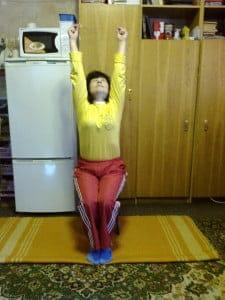Упражнения при гломерулонефрите.