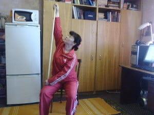 Упражнения для пожилых.