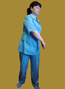 Упражнения при шейном остеохондрозе.