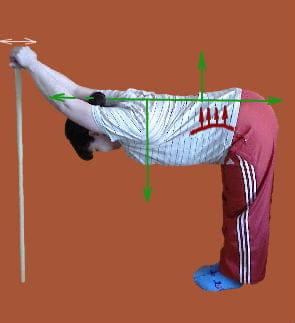 Лечебная гимнастика при кругловогнутой спине.